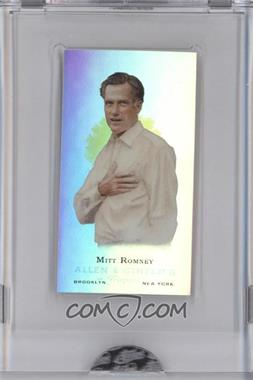 2009 eTopps Allen & Ginter's Presidential Pitch - [Base] #4 - Mitt Romney /999
