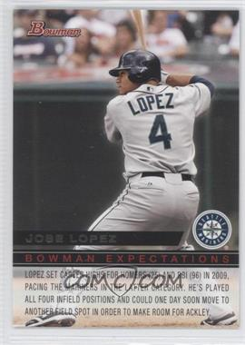 2010 Bowman - Expectations #BE27 - Jose Lopez, Dustin Ackley