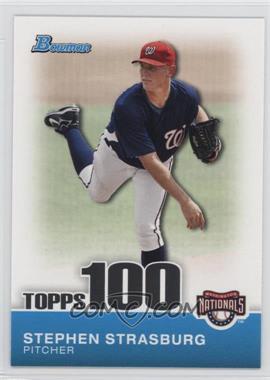 2010 Bowman - Topps 100 Prospects #TP1 - Stephen Strasburg