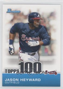 2010 Bowman - Topps 100 Prospects #TP3 - Jason Heyward