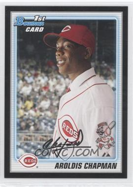 2010 Bowman - Wrapper Redemption Prospects - Black #BP10 - Aroldis Chapman