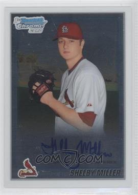 2010 Bowman Chrome - Prospects - Autographs [Autographed] #BCP204 - Shelby Miller