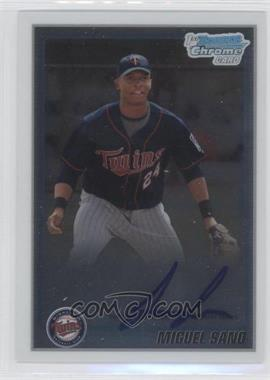 2010 Bowman Chrome - Prospects - Autographs [Autographed] #BCP205 - Miguel Sano