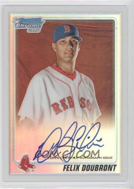 2010 Bowman Chrome - Prospects - Refractor Autographs [Autographed] #BCP102 - Felix Doubront /500