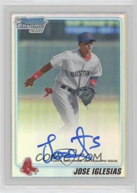 2010 Bowman Chrome - Prospects - Refractor Autographs [Autographed] #BCP108 - Jose Iglesias /500