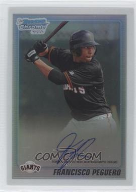 2010 Bowman Chrome - Prospects - Refractor Autographs [Autographed] #BCP189 - Francisco Peguero /500