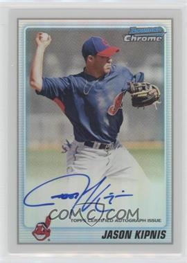 2010 Bowman Chrome - Prospects - Refractor Autographs [Autographed] #BCP196 - Jason Kipnis /500