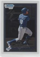 Salvador Perez (Dodgers Logo Should not be on Card)
