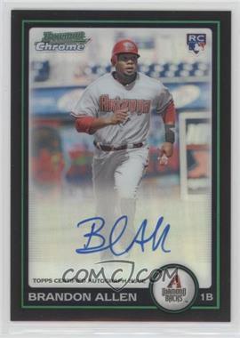 2010 Bowman Chrome - Rookie Autographs - Refractor #213 - Brandon Allen /500