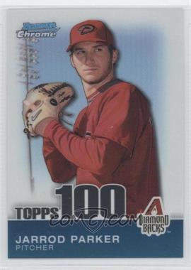 2010 Bowman Chrome - Topps 100 Prospects #TPC56 - Jarrod Parker /999