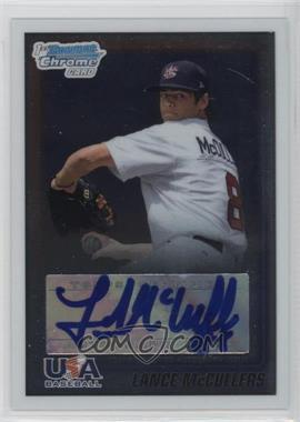 2010 Bowman Chrome - USA Stars - Autographs [Autographed] #USA-LM - Lance McCullers