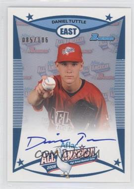 2010 Bowman Draft Picks & Prospects - Aflac All-American Certified Autographs #AFLAC-DTU - Daniel Tuttle /106