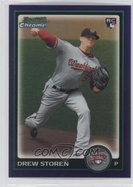 2010 Bowman Draft Picks & Prospects - Chrome - Purple Refractor #BDP31 - Drew Storen