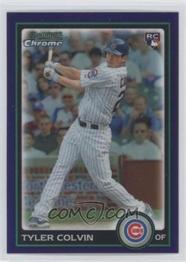 2010 Bowman Draft Picks & Prospects - Chrome - Purple Refractor #BDP32 - Tyler Colvin