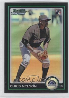 2010 Bowman Draft Picks & Prospects - Chrome - Refractor #BDP24 - Chris Nelson