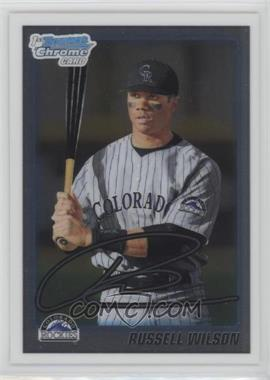 2010 Bowman Draft Picks & Prospects - Chrome Draft Picks #BDPP47 - Russell Wilson
