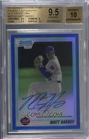 Matt Harvey [BGS 9.5 GEM MINT] #/150