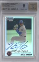 Matt Harvey [BGS 9 MINT] #/500