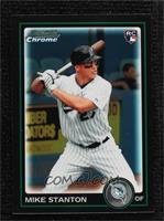 Giancarlo Stanton (Mike on Card) [Noted]