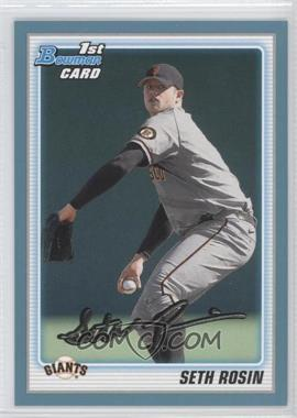 2010 Bowman Draft Picks & Prospects - Draft Picks - Blue #BDPP55 - Seth Rosin /399