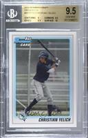Christian Yelich [BGS 9.5 GEM MINT]