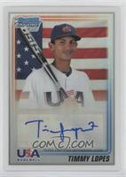 Timmy Lopes #/199