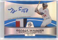George Springer #/50