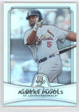 2010 Bowman Platinum - [Base] - Platinum Foil #5 - Albert Pujols /999
