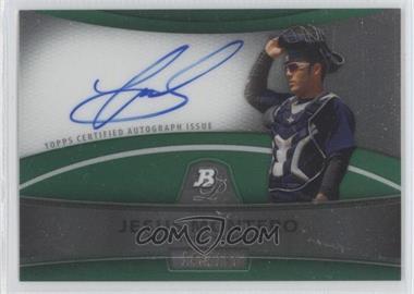 2010 Bowman Platinum - Chrome Autograph Refractor - Green #BPA-JM - Jesus Montero /199