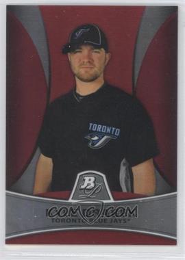 2010 Bowman Platinum - Prospects Chrome - Red Refractor #PP14 - Kyle Drabek /25