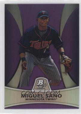 2010 Bowman Platinum - Prospects Chrome - Retail Purple Refractor #PP28 - Miguel Sano