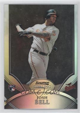 2010 Bowman Sterling - [Base] - Black Refractor #2 - Josh Bell /25