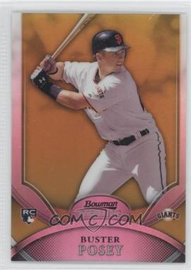 2010 Bowman Sterling - [Base] - Gold Refractor #23 - Buster Posey /50