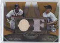Jason Heyward, Mike Stanton /50