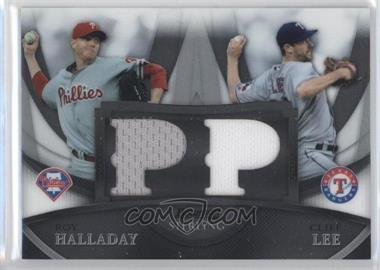 2010 Bowman Sterling - Boxloader Dual Relics #BL-7 - Roy Halladay, Cliff Lee /199