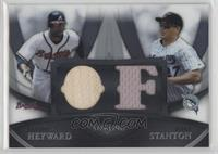Jason Heyward, Mike Stanton /199