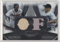 Jason Heyward, Mike Stanton #/199