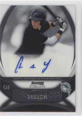 2010 Bowman Sterling - Prospects - Autographs [Autographed] #BSP-CY - Christian Yelich