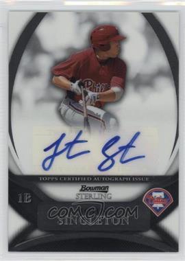 2010 Bowman Sterling - Prospects - Autographs [Autographed] #BSP-JS - Jonathan Singleton