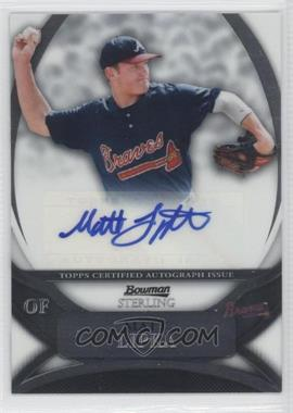 2010 Bowman Sterling - Prospects - Autographs [Autographed] #BSP-ML - Matt Lipka