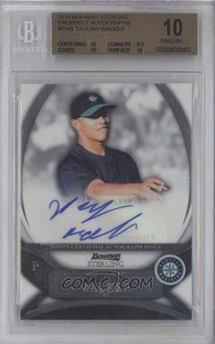 2010 Bowman Sterling - Prospects - Autographs [Autographed] #BSP-TWA - Taijuan Walker [BGS 10]