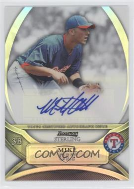 2010 Bowman Sterling - Prospects - Refractor Autographs [Autographed] #BSP-MO - Mike Olt /199