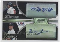 Mikie Mahtook, Brian Johnson /25