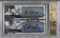 Bubba Starling, Lance McCullers /99 [BGS 9.5 GEM MINT]