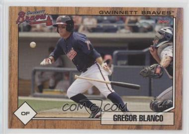 2010 Choice Gwinnett Braves - [Base] #01 - Gregor Blanco
