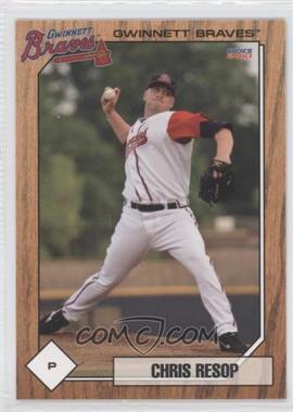 2010 Choice Gwinnett Braves - [Base] #20 - Chris Resop