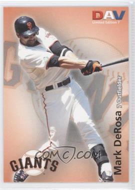 2010 Disabled American Veterans Major League - [Base] #7 - Mark DeRosa