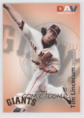 2010 Disabled American Veterans Major League - [Base] #9 - Tim Lincecum