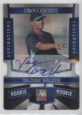 2010 Donruss Elite Extra Edition - [Base] - Aspirations Die-Cut Signatures #163 - Taijuan Walker /100