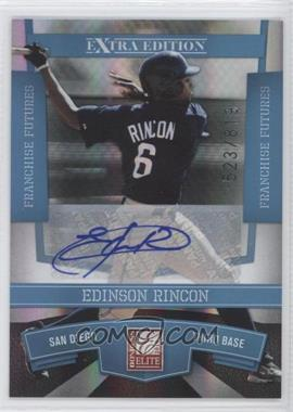 2010 Donruss Elite Extra Edition - [Base] - Franchise Futures Signatures [Autographed] #77 - Edinson Rincon /819